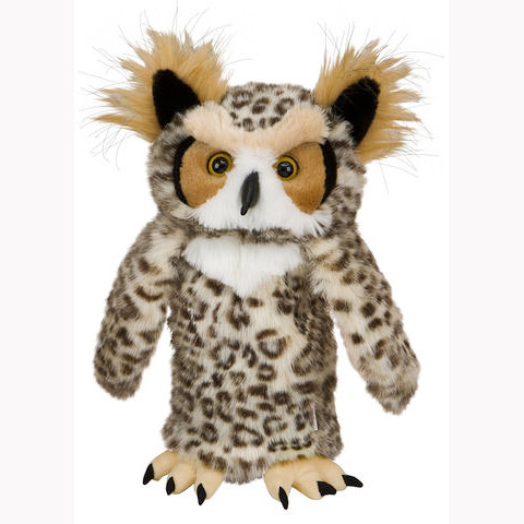 Daphnes Headcover für Driver & Fairway - Owl
