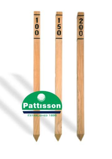Pattisson ENTFERNUNGSMARKER TEAK