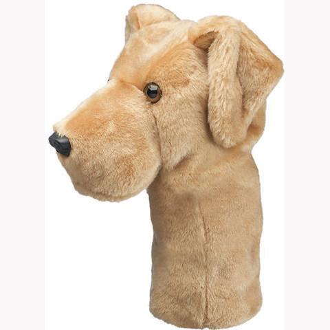 Daphnes Headcover für Driver & Fairway - Yellow Labrador