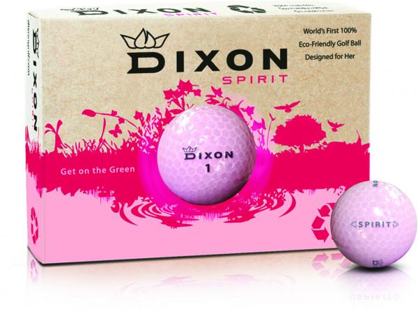 Dixon Spirit Golfball 12 Dutzend
