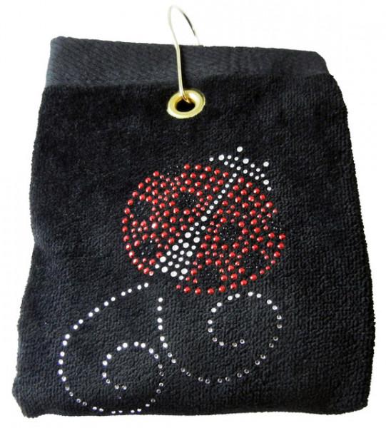 navica T5109-1 Crystal Embellished Handtuch - Ladybug