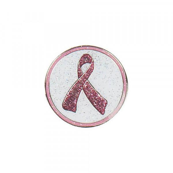 navica CL004-43 Glitzy Ballmarker - Pink Ribbon