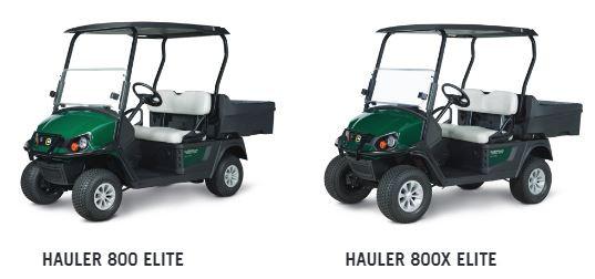 Cushman HAULER 800 ELITE SERIES Elektro Golfcart