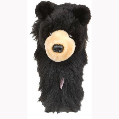 Daphnes Headcover für Driver & Fairway - Black Bear