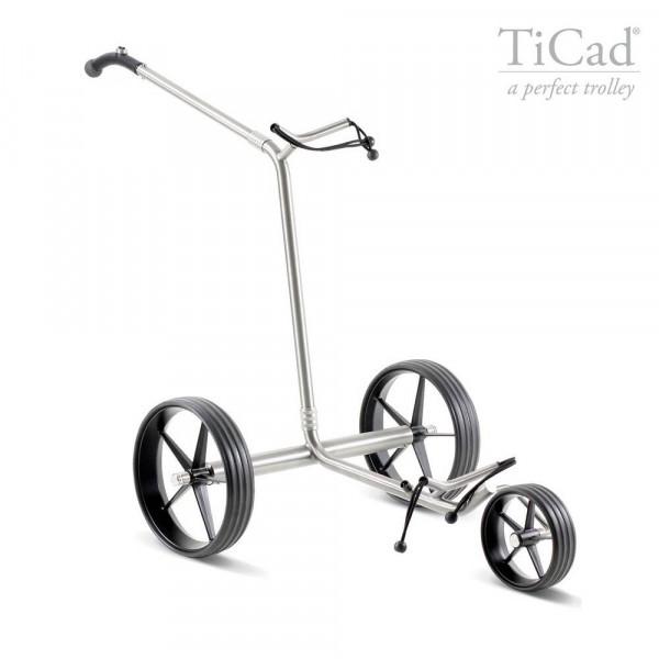 TiCad Goldfinger Elektro- Golftrolley mit Titan-Rädern