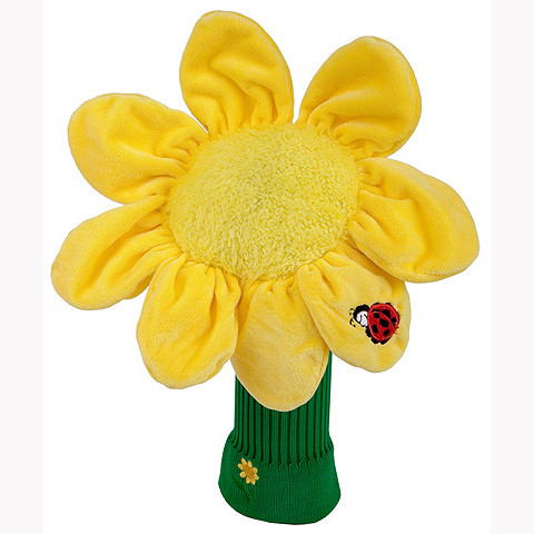 Daphnes Headcover für Driver & Fairway - Sunflower