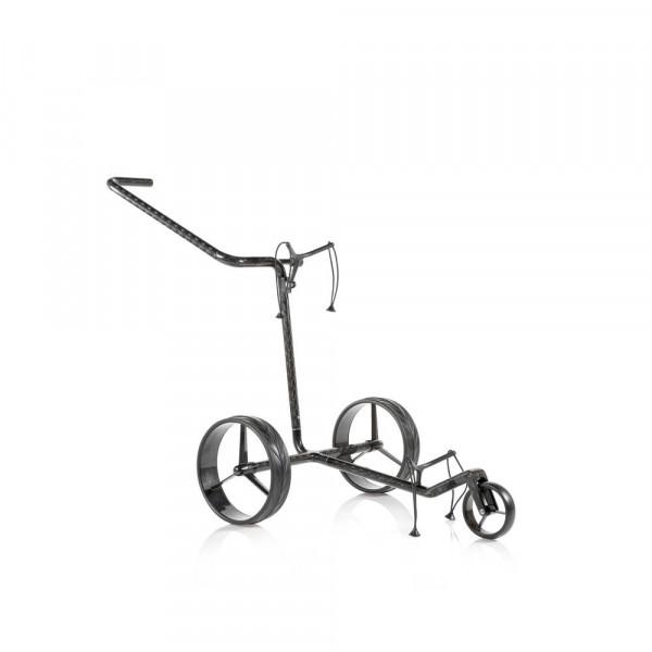 Jucad Carbon Drei-Rad Golftrolley