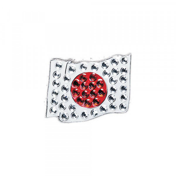navica CL006-65 Crystal Ballmarker - Flag Japan