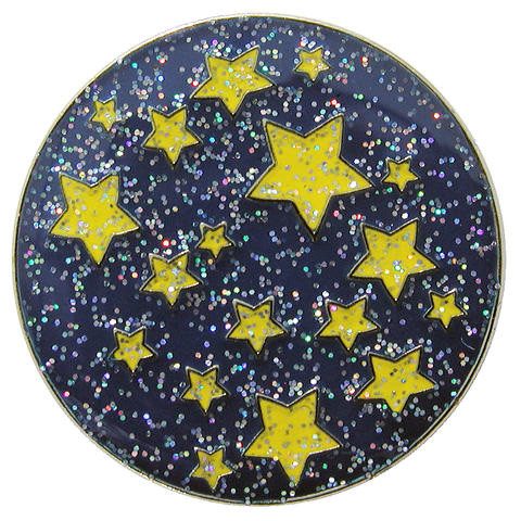 navica CL004-21 Glitzy Ballmarker - Starry Night