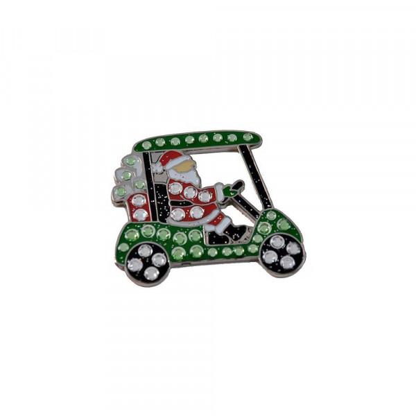 navica CL006-118 Crystal Ballmarker - Santa Cart