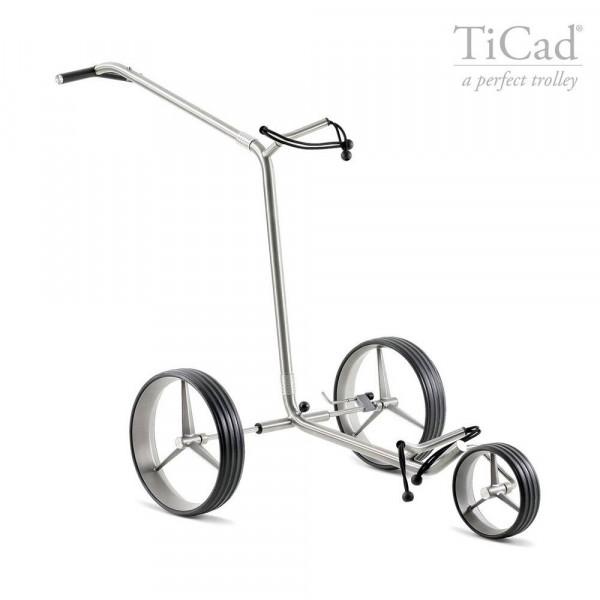 TiCad Andante Golftrolley Drei-Rad mit Titan-Rädern