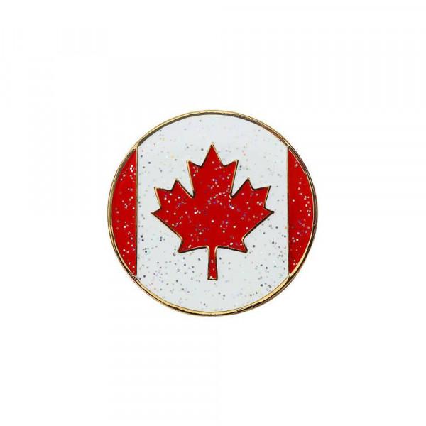 navica CL004-20 Glitzy Ballmarker - Canadian Flag
