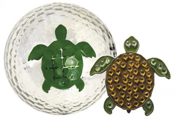 """Navika Geschenkset Golfball und Marker """"Turtle"""""""