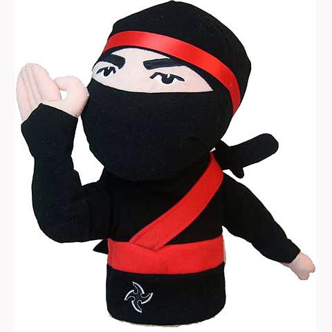 Daphnes Headcover für Driver & Fairway - Ninja