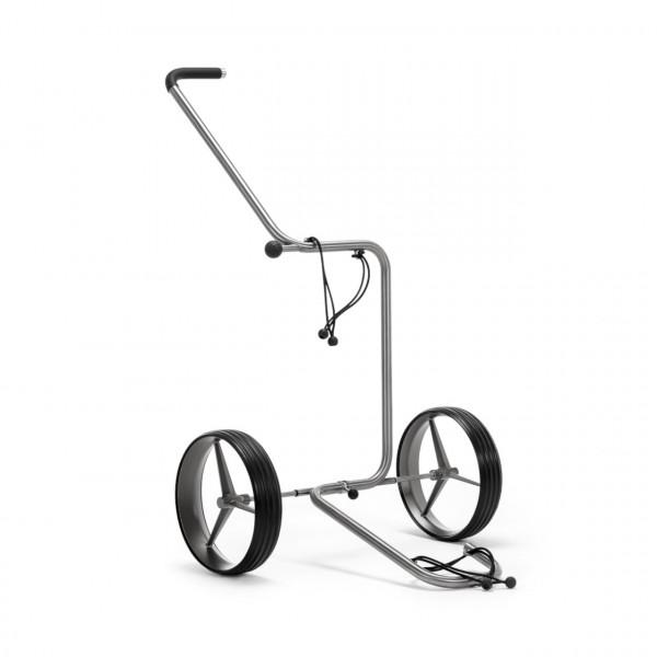 TiCad Star Golftrolley Zwei-Rad mit Titan Rädern