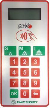 Zahlungssystem Range Servant SOLO-3 Kartenlesesystem - SOL0032